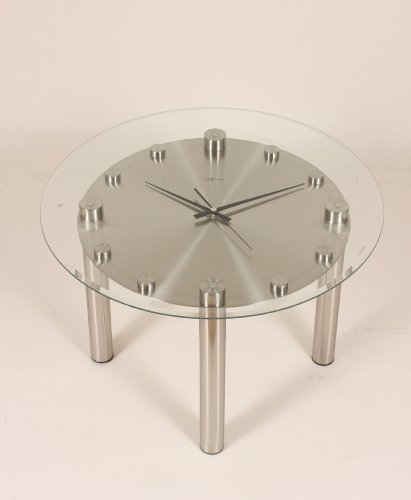 Tisch Coffee Table clock with Large Clock Table Top