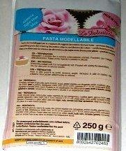 Pasta de modelar - Para crear objetos decorativos y flores para tartas - 250 gramos - Azul claro - 5227