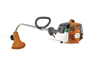 Husqvarna 128C 28cc 2-Stroke Gas-Powered Smart Start Curved Shaft String Trimmer (CARB Compliant)