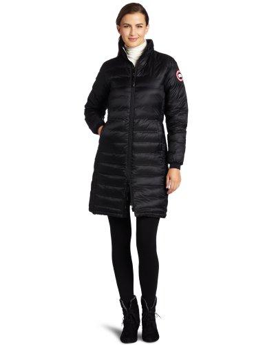 Canada Goose Women's Camp Coat,Black,Medium (Women Down Coat Canada Goose compare prices)