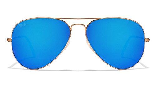 ray-ban-unisex-sonnenbrille-aviator-gr-large-herstellergrosse-58-gold-gestell-gold-glaser-crystal-gr