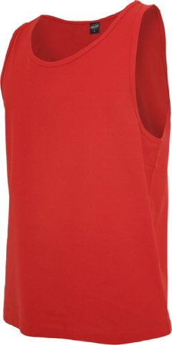 Urban Classics Herren Pullunder Gr. Medium, Rot - Rot