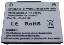 Where to buy 3.7V 350mAh 14151 01 26 02180 Battery for GN Netcom 9120 & Jabra GN9125 Wireless Headsets.