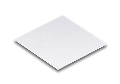"""Technical Glass Products- Fused Quartz Cover Slips - 1"""" Square X 0.15Mm Thick"""