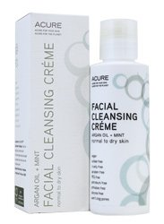 ACURE Facial Cleansing Creme - 4 oz - Argan Oil