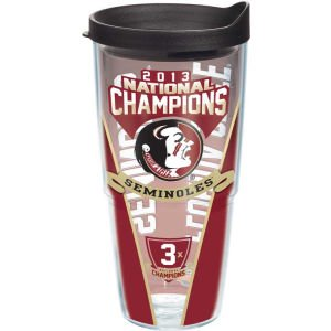 Tervis Tumbler Florida State Seminoles Fsu 2013 National Champions Wrap 24Oz With Lid