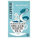 Clipper Organic White Tea 26'S 45G