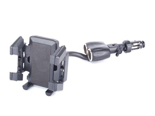 Stabile Handy-Halterung für den Zigarettenanzünder in Ihrem PKW - geeignet für Doro PhoneEasy 410 & 345 GSM WH Easy