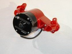 Meziere Wp114U Polished Electric Water Pump For Small Block Mopar