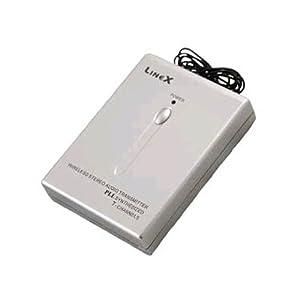 LineX LinkPlus PLL Wireless FM Transmitter Audio Adaptor MP3