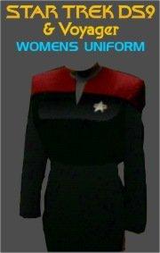 Star Trek DS9 & Voyager Women's Uniform Costume Pattern