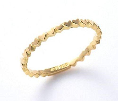 AHKAH アーカー アンハート エタニティリング リング 指輪 (9号)