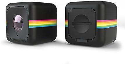 Polaroid Cube+ Mini Lifestyle Action Camera with Wi-Fi & Image Stabilization (Black)