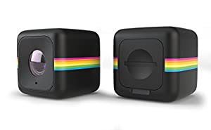 Polaroid Cube+ Mini Lifestyle Action Camera with Wi-Fi & Image Stabilization (Black)
