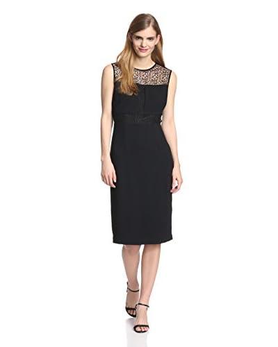 Marc New York Women's Sleeveless Sheath Dress with Lace