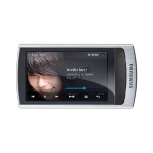 Samsung R1 8GB Portable Media Player With Built In Bluetooth FM Radio And Voice Recorder - Silver