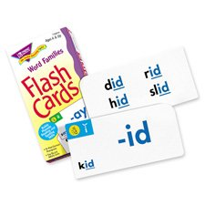 Word Families Skill Drill Flash Cards, Pack of 96 Card Game