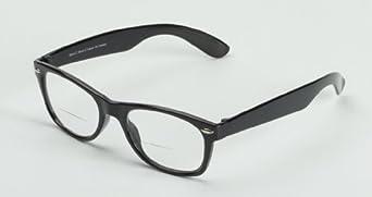 Hot Optix Men's Vintage-inspired Full Frame Reading Glasses - black - 1.5