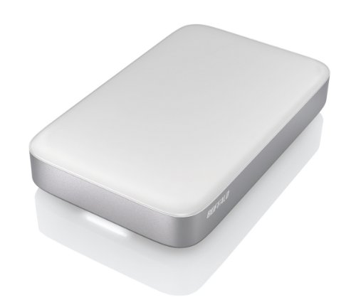 Buffalo HD-PATU3 Mini Station Thunderbolt 1TB USB 3.0 Portable Hard Drive