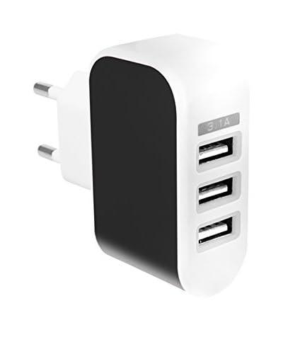 Cargador USB 1A Negro