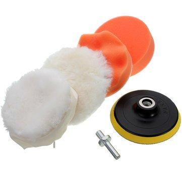 6pcs-4-Inch-High-Gross-Car-Polisher-Polishing-Polish-Buffer-Clean-Waxing-Pads-Set