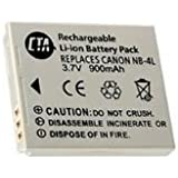 Battery (NB-4L) for CANON POWERSHOT SD400 SD600 SD630