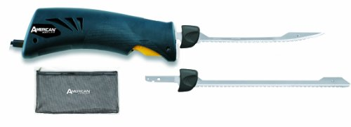 American Angler Classic EFK Saltwater Series Knife with 2 Blades, Blue