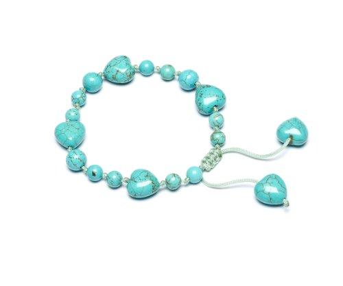 Lola Rose 'Ruthie' Natural Blue Magnesite Bracelet