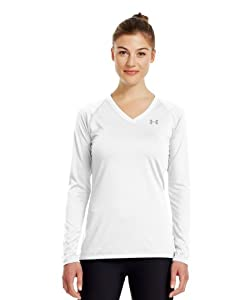 Under Armour Women's UA Tech™ Long Sleeve Medium White
