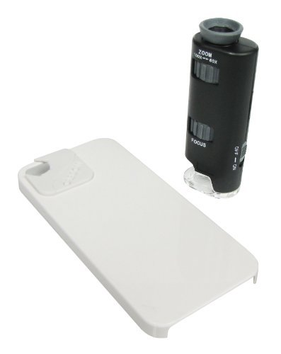 Carson Micromax Plus Led Microscope Adapter Works With Iphone 4/4S, White (Mm-250) Toy, Kids, Play, Children