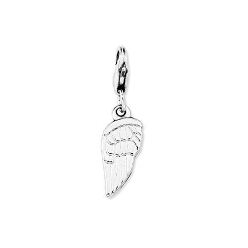 Imagen principal de Amor 269964 - Abalorio de mujer de plata de ley, 3 cm