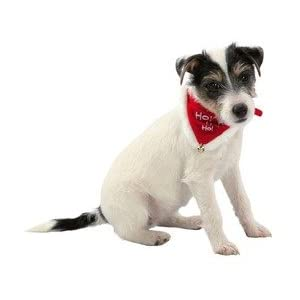 Ho Ho Ho Christmas Neckerchief Collar for Cats and Dogs