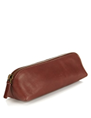 Blue Harbour Leather Pencil Case