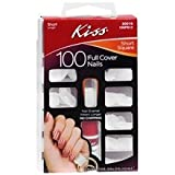 Kiss 100 Full Cover Nails Short Square (Short Length)