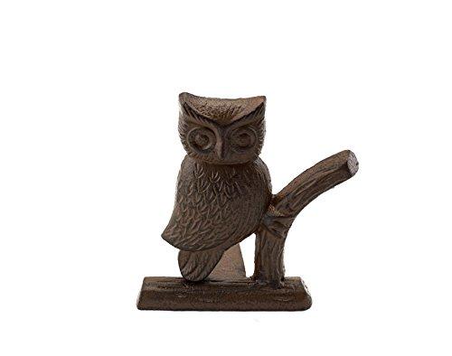 Cast Iron Owl Door Stop Decorative Door Stopper Wedge