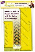 Bright Quilting Notions Ruler Double Diamond