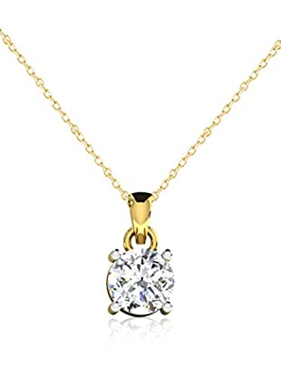 Friendly Diamonds Conjunto de cadena y colgante FDP6257Y Oro Amarillo