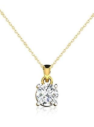 Friendly Diamonds Conjunto de cadena y colgante FDP6257Y Oro Amarillo