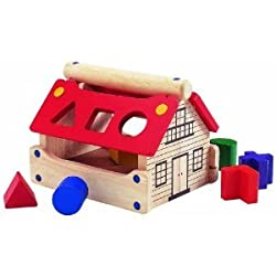 Wonderworld Eco-Friendly Posting House Shape Sorter