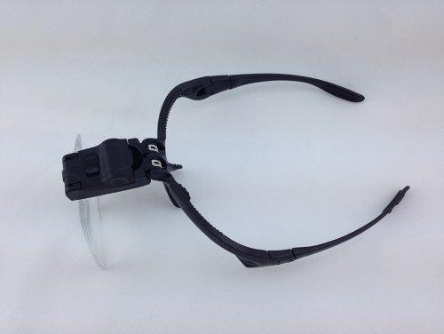 Holy Dragon 5pcs Lenses LED Jeweler's Light Magnifier Visor
