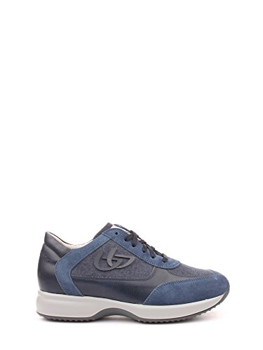Byblos Blu 662052 Sneakers Uomo Canvas Blue Navy Blue Navy 44