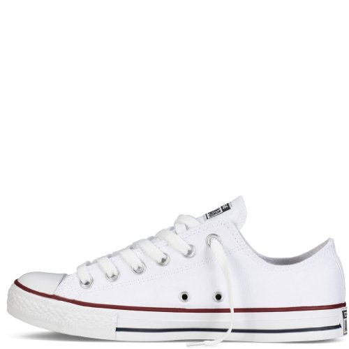 Converse Converse Chuck Taylor All Star Shoes (M7652) Low Top In Optical White, Size:8.5 B(M) US Wom..