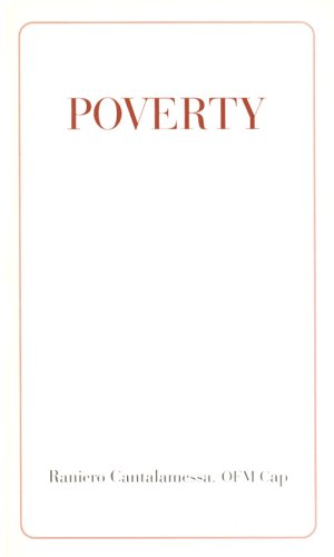 Poverty, by Raniero Cantalamessa