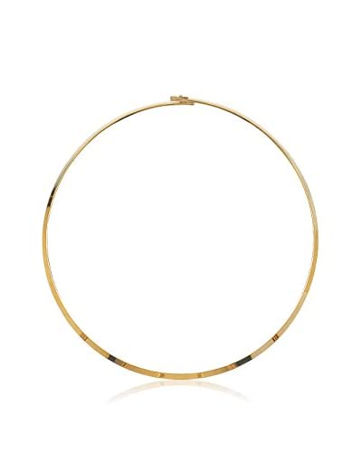 BALI Jewelry Collar metal bañado en oro 18 ct