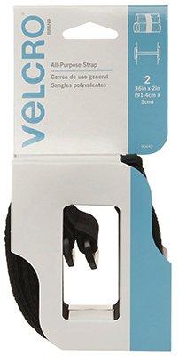 Velcro Velstrap 36'' X 2'' Blk 2pk 90440