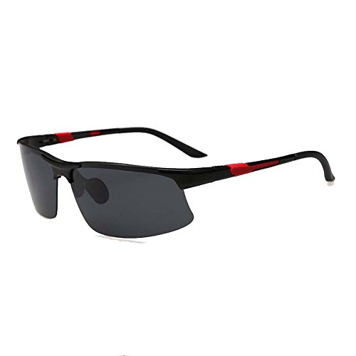 [Final Bliss Unisex Polarized Mg-Al Clearly Outdoor Cycling Sunglasses(X1)] (Morpheus Costumes Sunglasses)