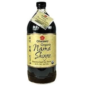 Raw Organic Nama Shoyu-32 ozs.
