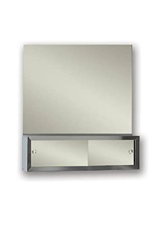 Jensen PEM3024 Polished Edge Frameless Mirror, 30-Inch by 24-Inch