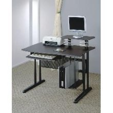 Buy Low Price Comfortable Black Metal Computer Desk – Coaster 800244 (B005LWT684)