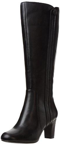 Clarks Women's Tamryn Leaf Boot,Black,8 M US